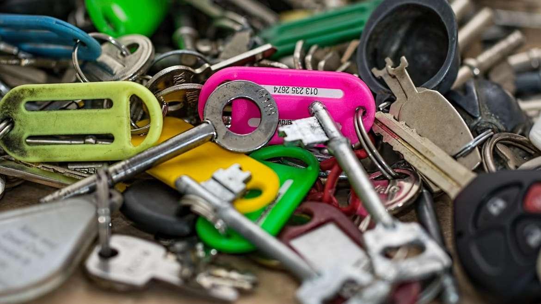 Ik ben de sleutels van mijn veiligheidsdeur kwijt. Wat nu?